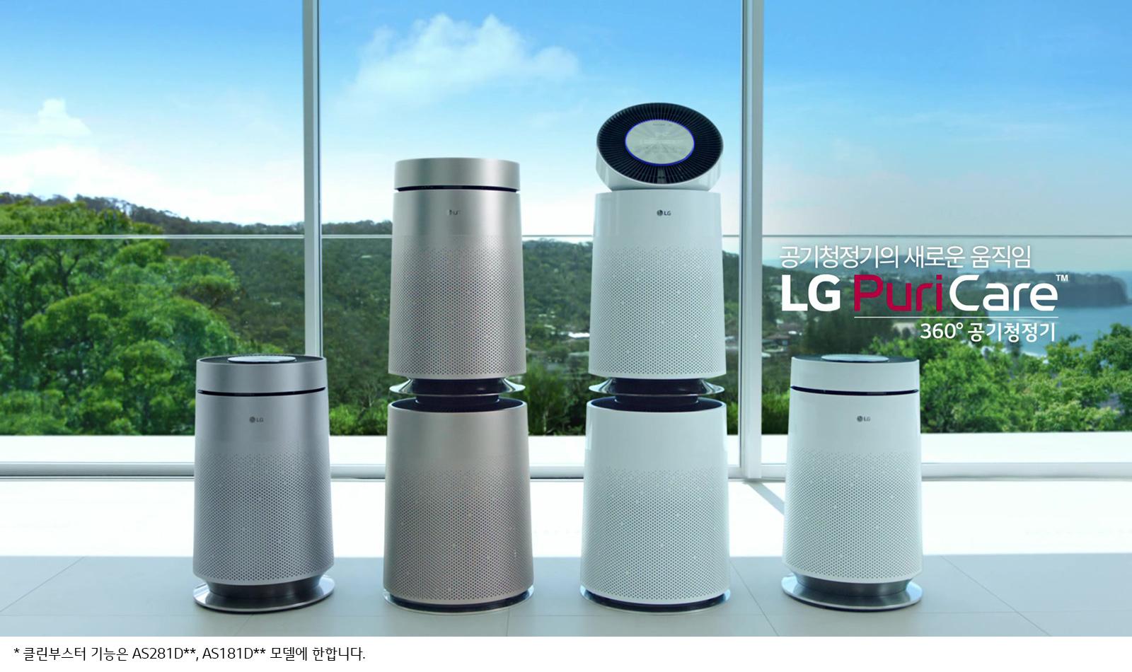 máy lọc không khí LG 4