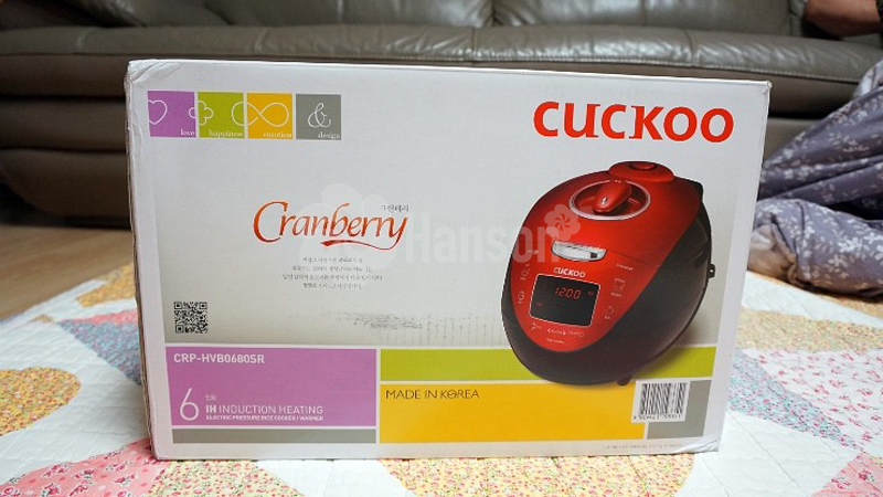 Nồi cơm điện cao tần Cuckoo CRP-HVB0680SR