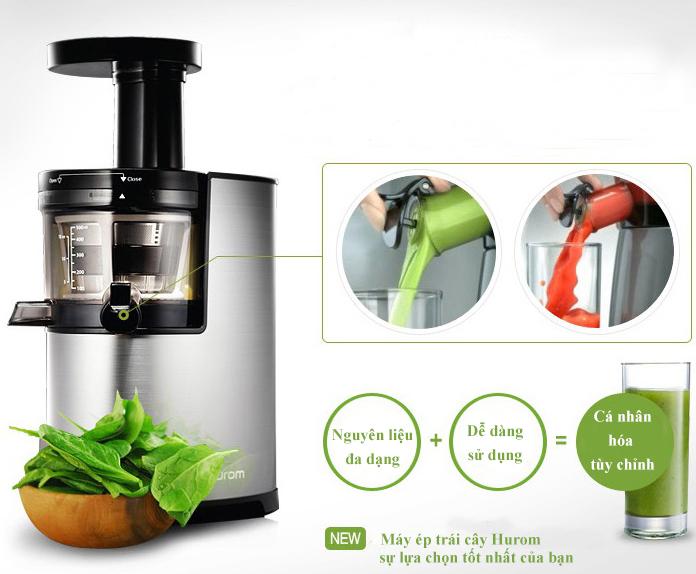 Hurom - Thương hiệu máy ép trái cây nổi tiếng tại Hàn Quốc