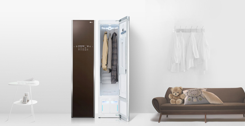Có nên sử dụng máy giặt hấp sấy LG Styler ?