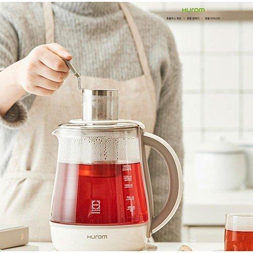 Pha trà dễ dàng hơn với Máy pha trà Hurom Tea Master