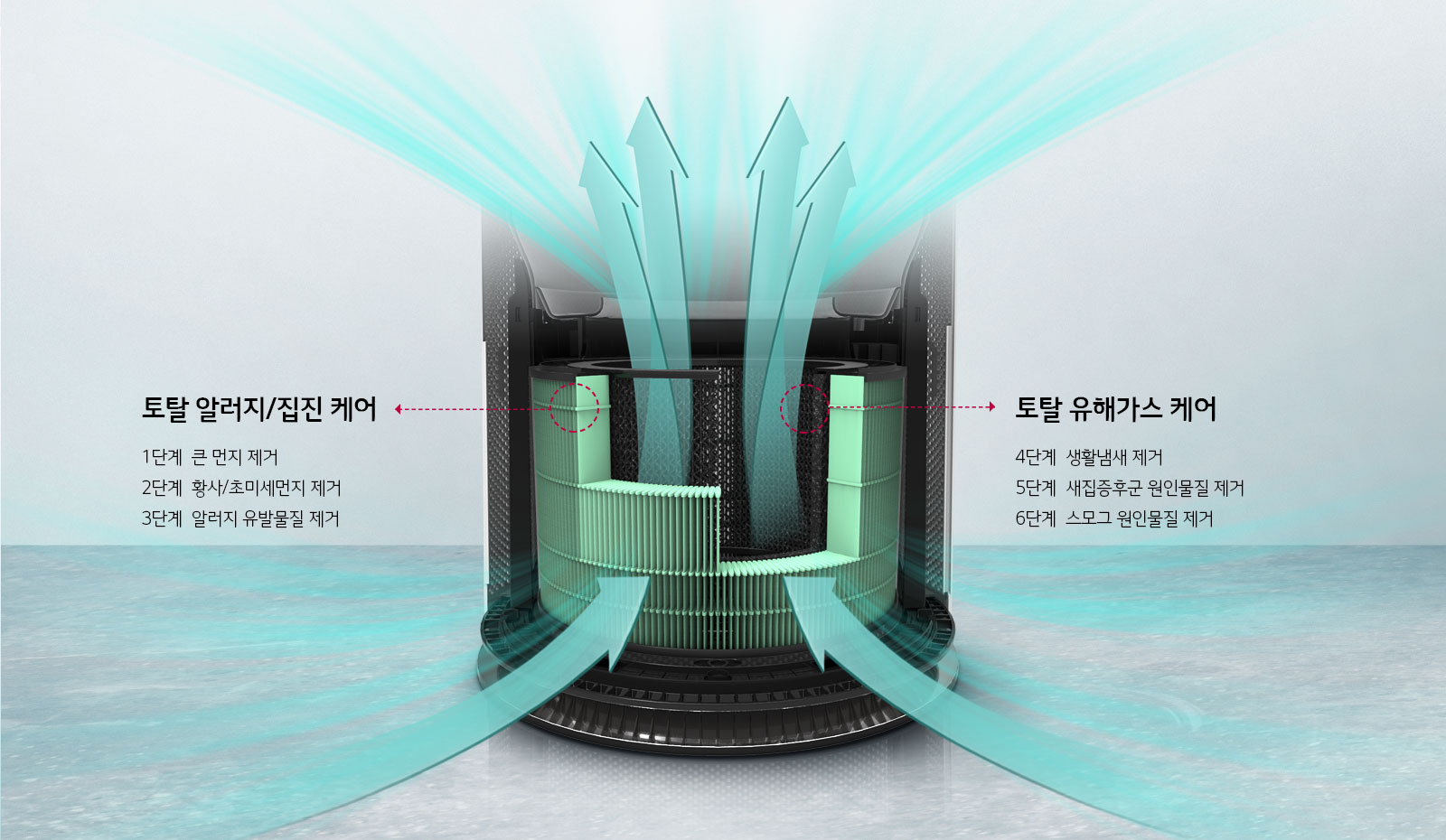 Máy lọc không khí LG AS309DAW