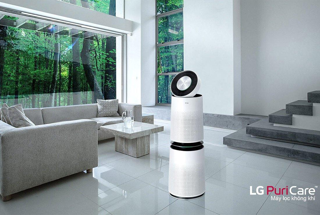 Máy lọc không khí LG PuriCare 2 tầng AS95GDWV0