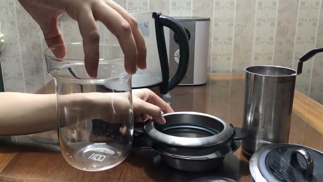 Máy pha trà Hurom Tea Master TM-P02FSS