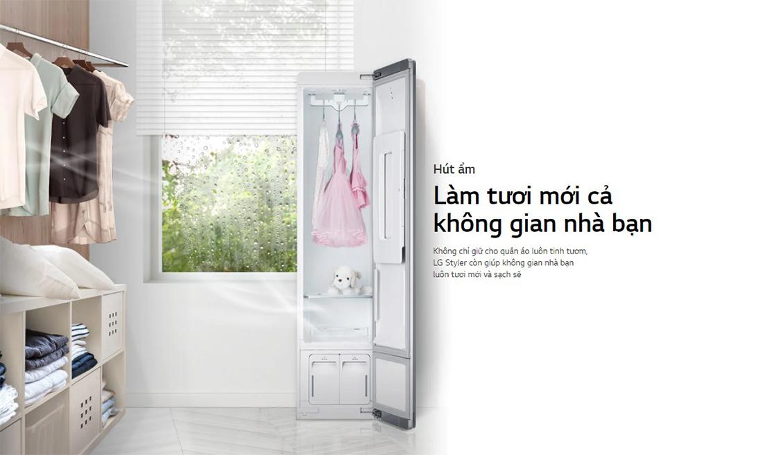 Tủ chăm sóc quần áo thông minh LG Styler S3WF