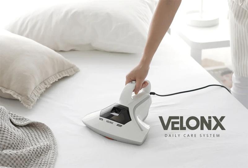 Máy hút bụi chăn nệm Velonix SHVC-017WH